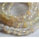 Agate beads 6mm natural, round, dyed,  20 pcs