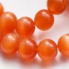Klaashelmes kassisilm 8mm, oranž, 1 tk